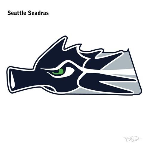 Logo - Seattle Seadras