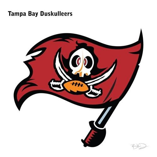 Cartoon - Tampa Bay Duskulleers