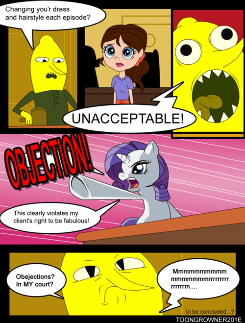 lemongrab comics phoenix wright rarity - 7797714432