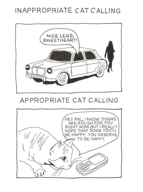 cat calling pets comic Cats funny g rated dating - 7797844736