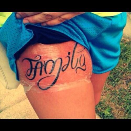 bad tattoos family funny - 7798071808