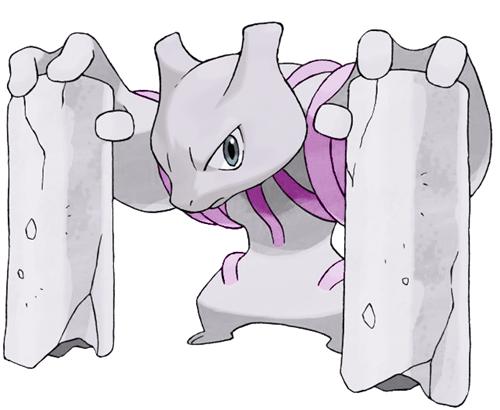 Pokémon mega evolutions mewtwo conkeldurr - 7798550528