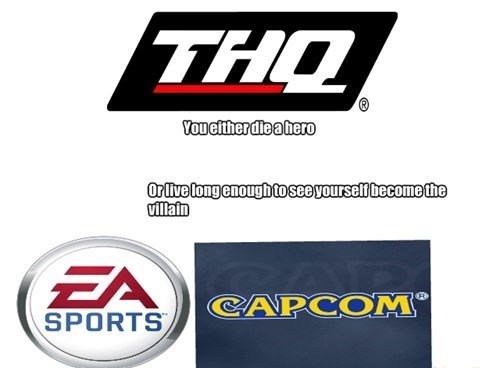 THQ,EA,capcom,video game companies