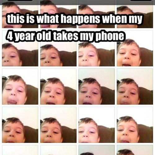 selfie kids parenting funny - 7798940928