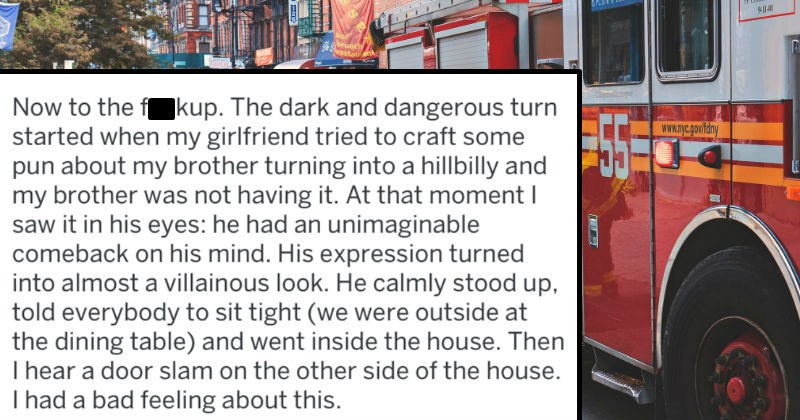 fire department called for dad joke that went too far