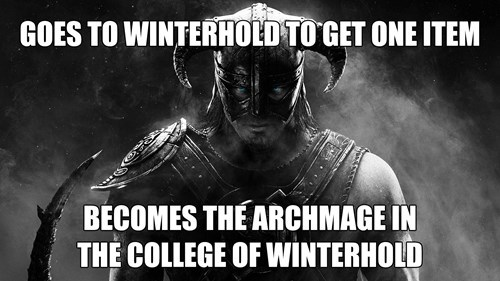 winterhold,video games,Skyrim