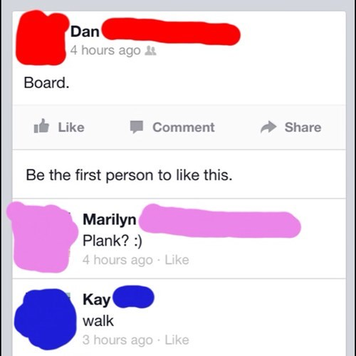 board,bored,spelling