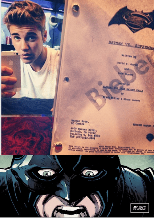 superbatman batman celeb justin bieber - 7799600640