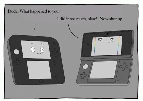 Sad 3DS nintendo - 7799879680