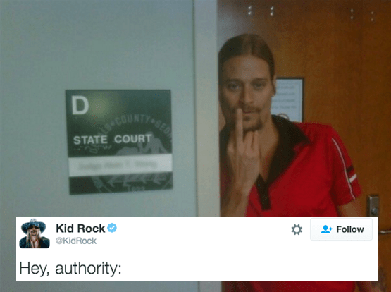 anarchy twitter authority Kid Rock - 780037