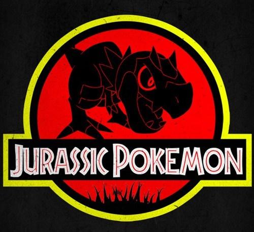 Pokémon tyrunt jurassic park - 7800566016