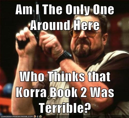 cartoons Avatar am i the only one korra