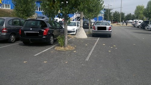 FAIL,parking lot,funny,there I fixed it