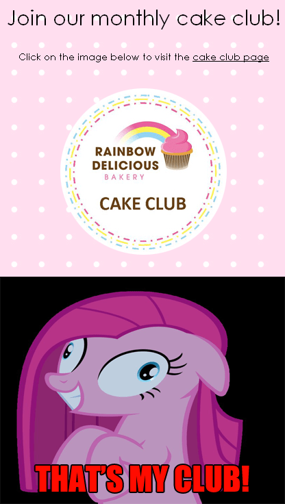 pinkie pie cakes cake club - 7800714752