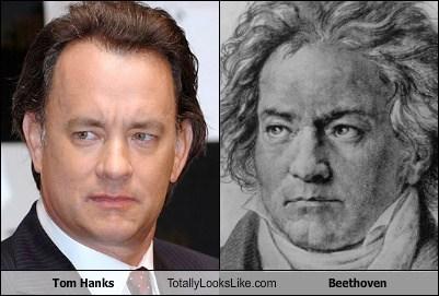 Beethoven tom hanks totally looks like funny - 7800749312