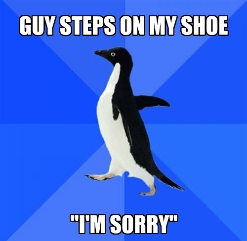 socially awkward penguin Memes - 7800842752