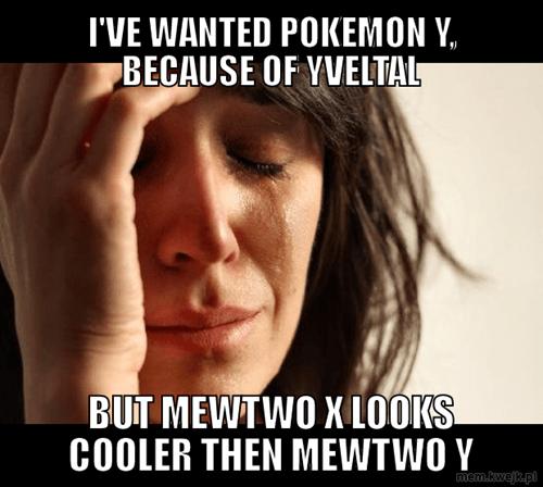 Pokémon yveltal First World Problems - 7801065216