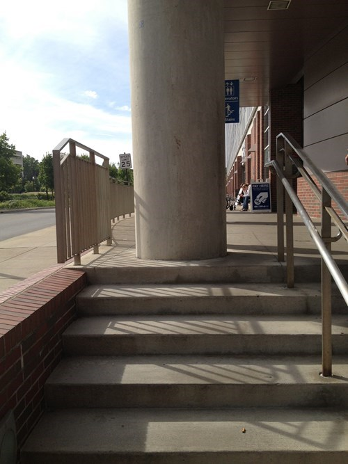 pillar,FAIL,stairs,funny,there I fixed it,g rated