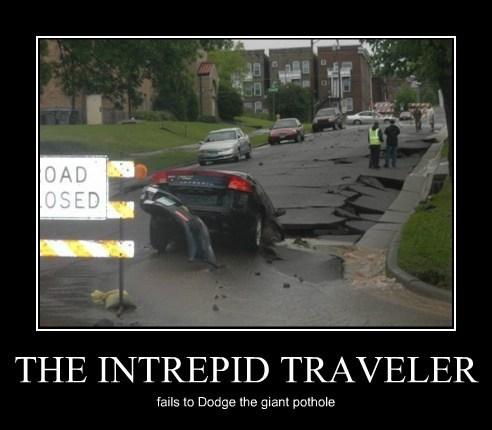 car pothole funny - 7802128384