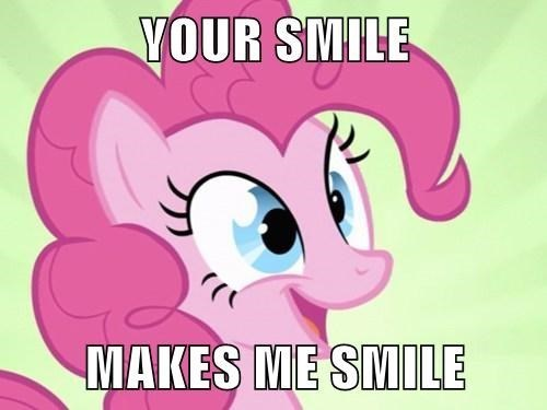 pinkie pie,squee,smile