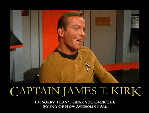 TOS awesome Star Trek james t kirk - 7802132224