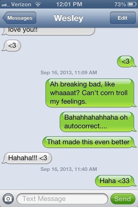 breaking bad autocorrect text funny - 7802158592