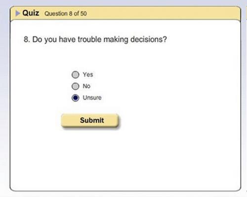 surveys purgatory unsure making decisions ambivalent exam - 7802170368