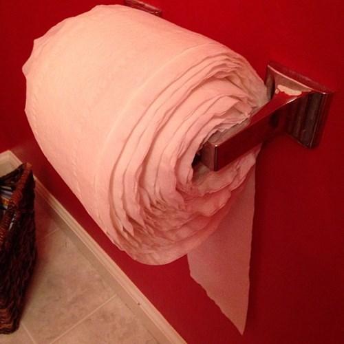 toilet paper parenting funny kids - 7802175488