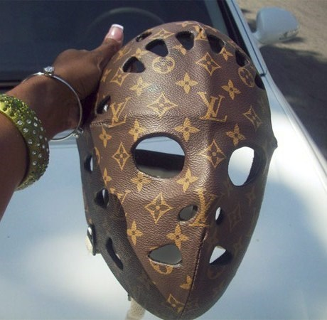 hockey mask,Louis Vuitton