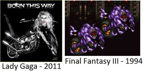 born this way final fantasy lasy gaga Music g rated - 7802277888