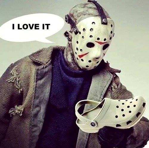 shoes jason crocs - 7802317824