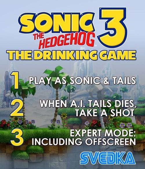 sega sonic 3 drinking games - 7802329856