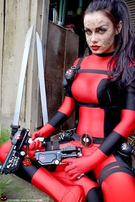 cosplay deadpool comics superheroes - 7802380288