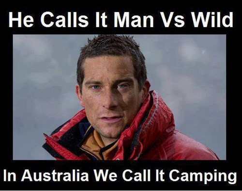 bear grylls,man vs wild,australia