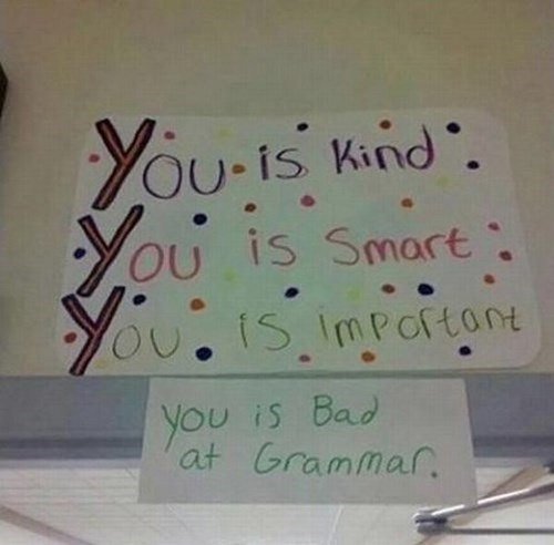 grammar you you you