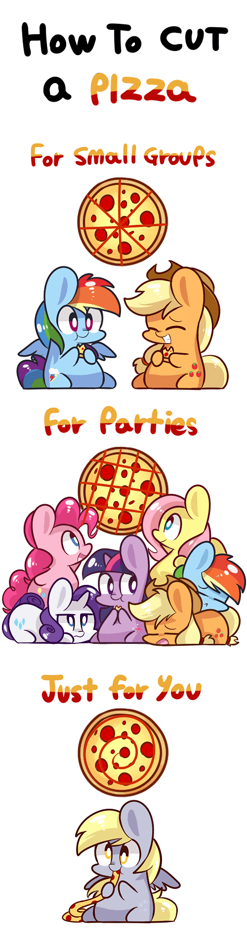 sharing pizza MLP - 7802527232