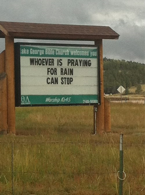 sign flooding Church Sign funny - 7802552832