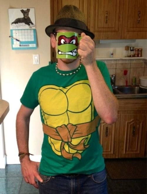 teenage mutant ninja turtles shirt costume mug - 7803433472