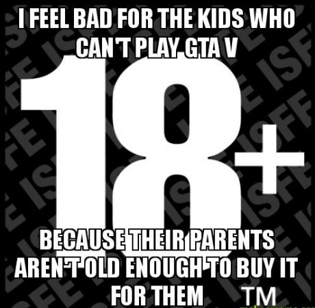kids grand theft auto v parenting burn - 7803458048