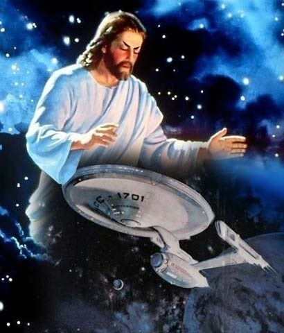 jesus enterprise Star Trek - 7803519488