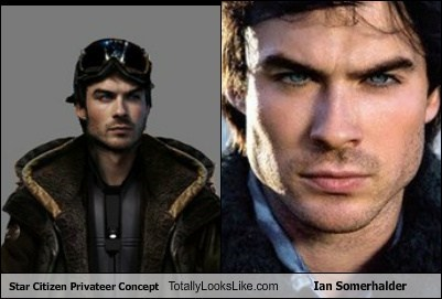 totally looks like ian somerhalder star citizen funny
