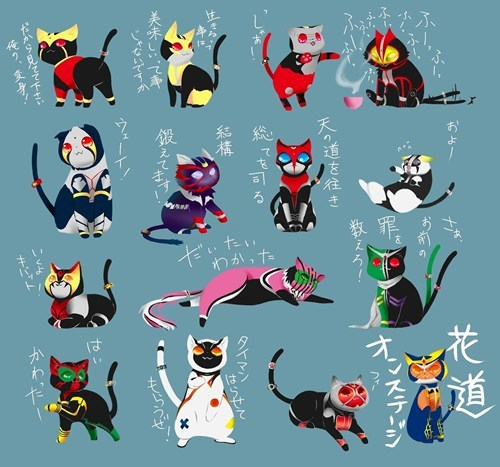 mashup Cats kamen rider - 7803768832