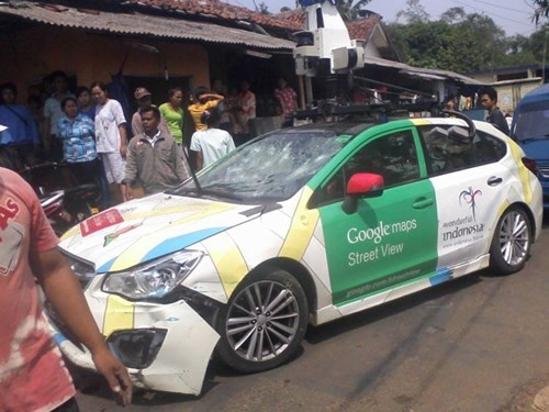 FAIL accident google street view