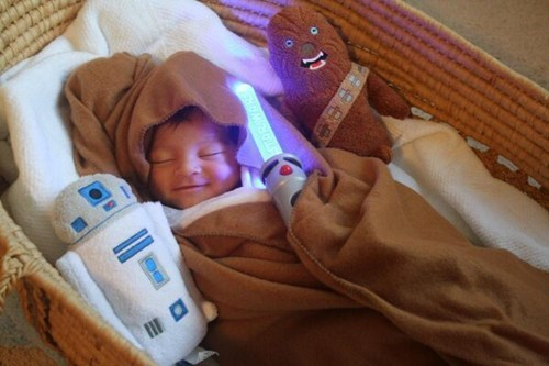 Babies star wars cute parenting - 7803807744
