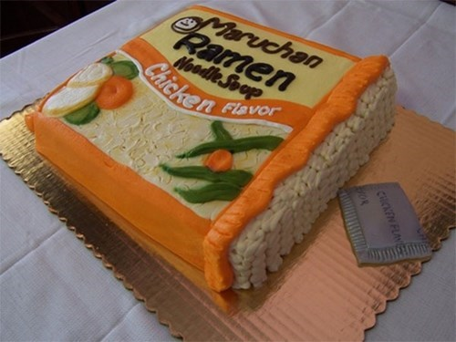 cake ramen design food funny - 7803888896