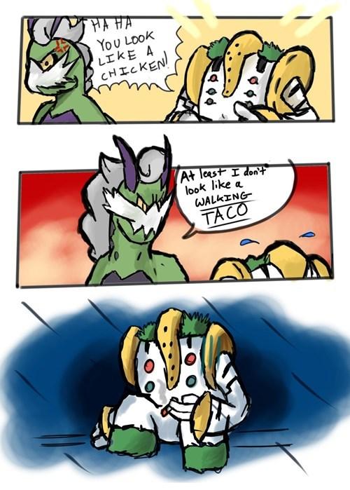 Pokémon tacos comics regigigas tornadus - 7803893760