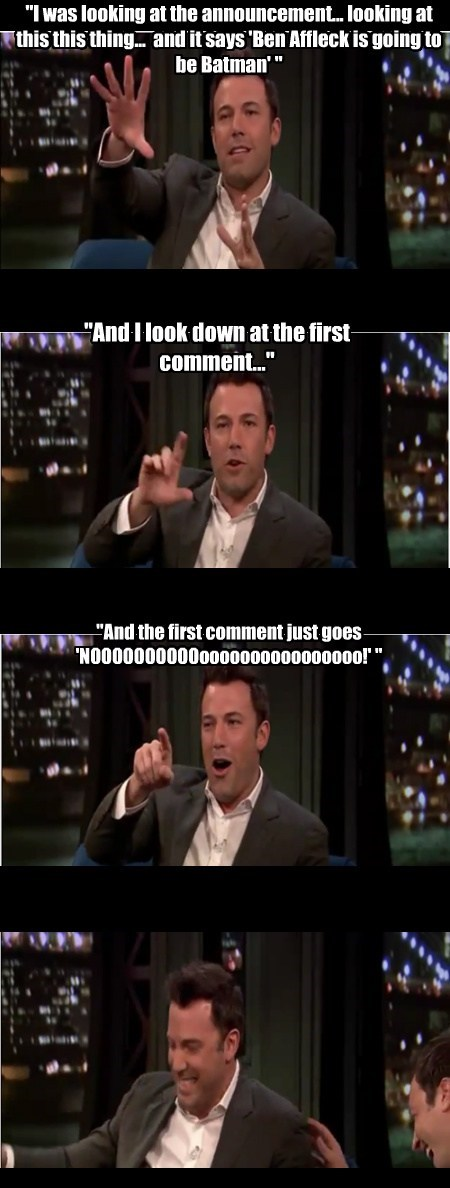 batman ben affleck funny - 7804803072