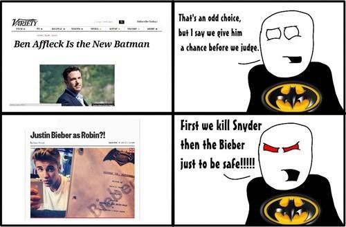 Zack Snyder,batfleck,batman,justin bieber