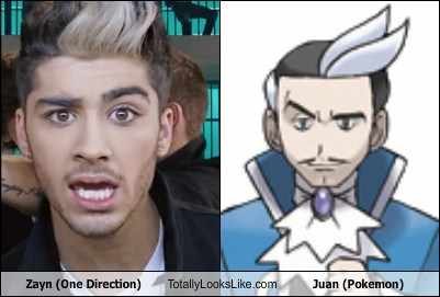 one direction,zayn,Pokémon,juan,totally looks like,funny