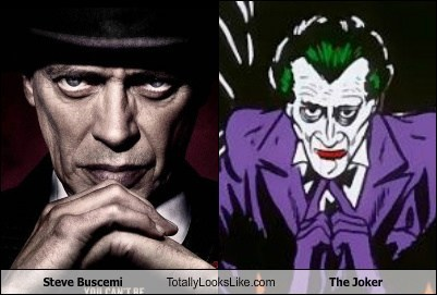 steve buscemi,the joker,totally looks like,funny